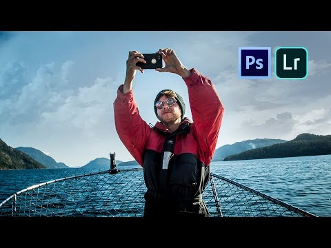 MAKE ANY OUTDOOR PHOTO LOOK EPIC! - Lightroom + Photoshop Tutorial