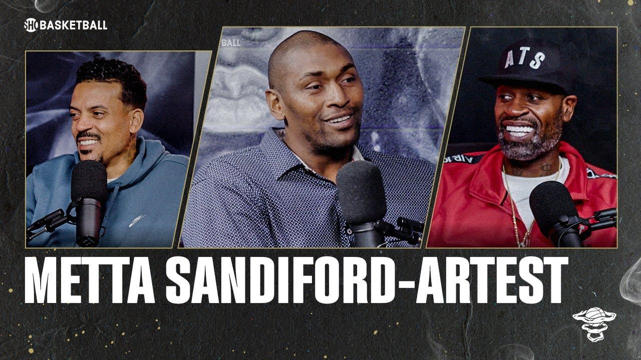 Metta Sandiford-Artest | Ep 54 | ALL THE SMOKE Full Episode | SHOWTIME Basketball