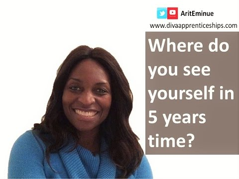 Where do you see yourself 5 years time? - How to answer job interview question