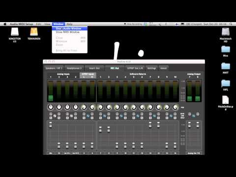 Routing 101 -- Advanced Routing in M-Audio Profire sound cards software mixer