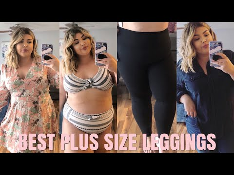 BEST PLUS SIZE LEGGINGS EVER!! NORDSTROM TRY-ON HAUL