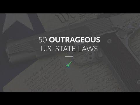 50 Outrageous U.S. Laws