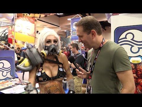 Jessica Nigri Sexy Cosplay at Comic-Con 2016