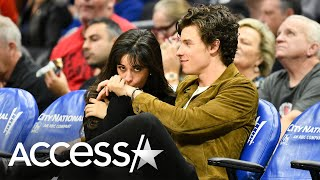 Camila Cabello And Shawn Mendes Share Smooches And Cuddles Courtside At Clippers Game
