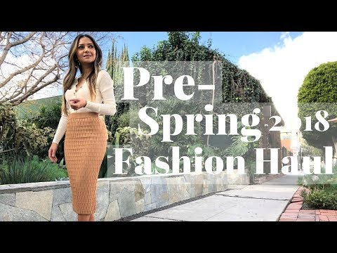 Try-On Haul February 2018 | Zara, Asos, H&M, Revolve, Aritzia