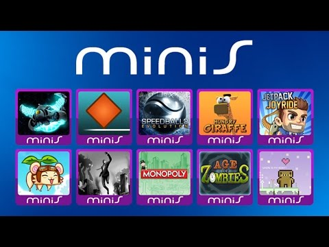 All PlayStation minis Games - Every PS minis PSP minis Game In One Video
