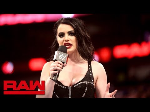 Paige gives an emotional retirement speech: Raw, April 9, 2018