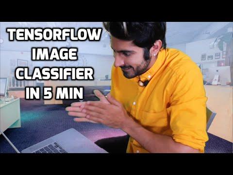 Build a TensorFlow Image Classifier in 5 Min