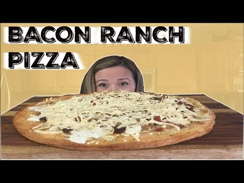 HOW TO MAKE VEGAN BACON RANCH PIZZA | COOKING SHOW | EAT LAUGH REVIEW