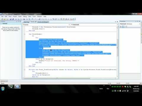 VB.NET - Chat / Messenger Application - Updated 05.2012 - Video Tutorial