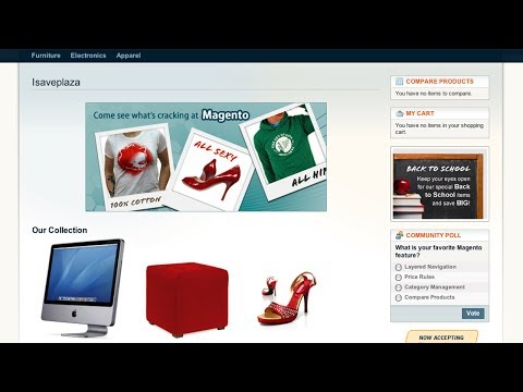 Adding Products to Your Magento Homepage