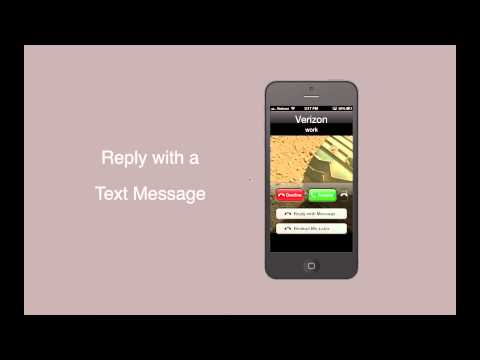 How to Use Reply With Message and Reminders in iOS 6