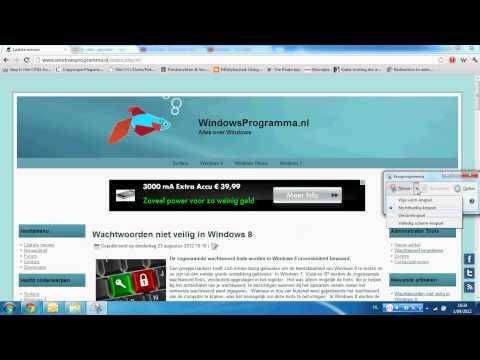 Makkelijk screenshots maken in Windows 7