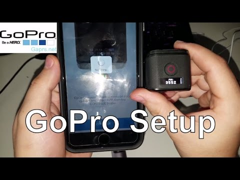 How To Reset User Name and Password on a GoPro Session and To set Up Live Feed to for Framing Shots
