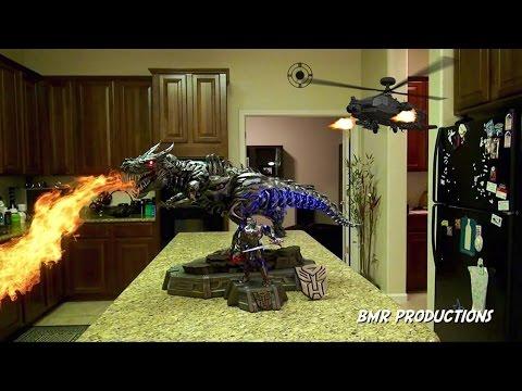 Prime 1 Studio's Grimlock EX with Optimus Unboxing