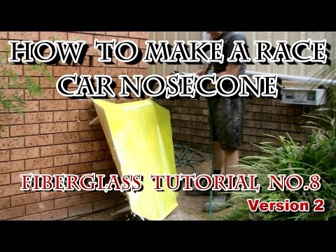 How to Make a Race Car Nose Cone