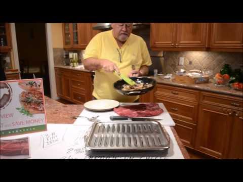 Stuffed Flat Iron Roast Recipe