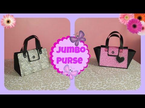 How to make a Jumbo Purse gift bag
