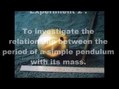 Physics Experiment Pendulum
