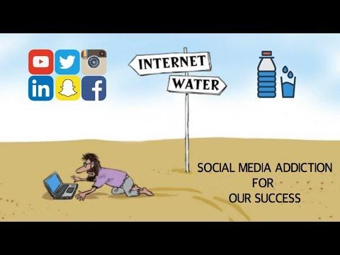 SOCIAL MEDIA ADDICTION TECHNIQUES FOR SUCCESS !! (HINDI) - ANIMATED SUMMARY