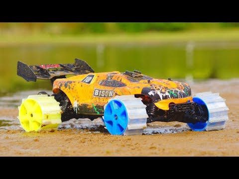 3D Printed RC Car Wheels - Crazy Traction!!!