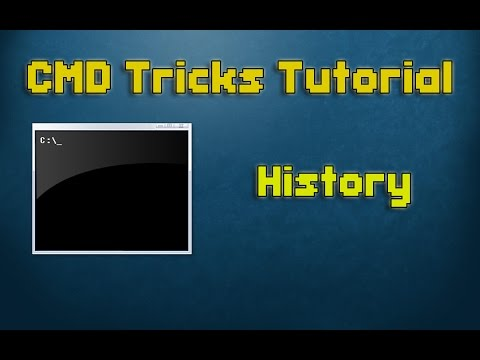 CMD Tutorial - 3 - How to check History commands
