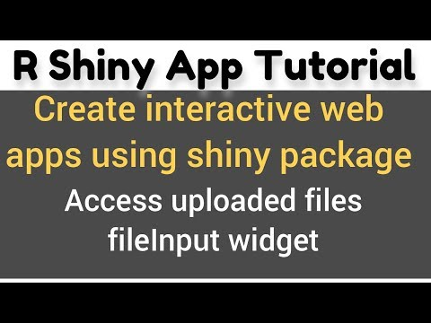 R Shiny App Tutorial #15(c)   fileInput()   how to upload and access multiple CSV files in R Shiny