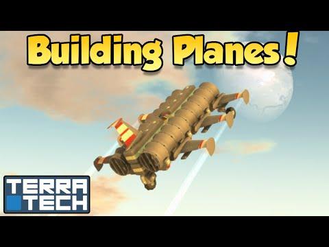 Building Planes! - Terratech [Ep.8] - Let's Play TerraTech v0.6.5
