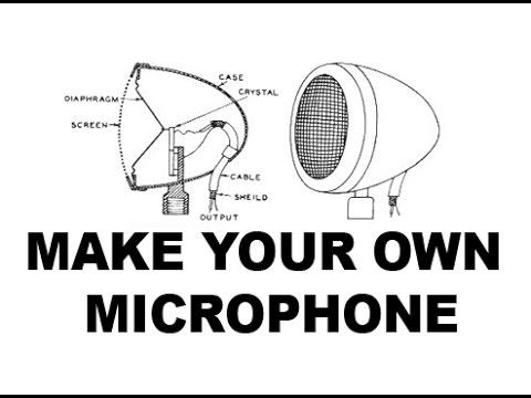 how to make custom microphone for laptops and computer free at home