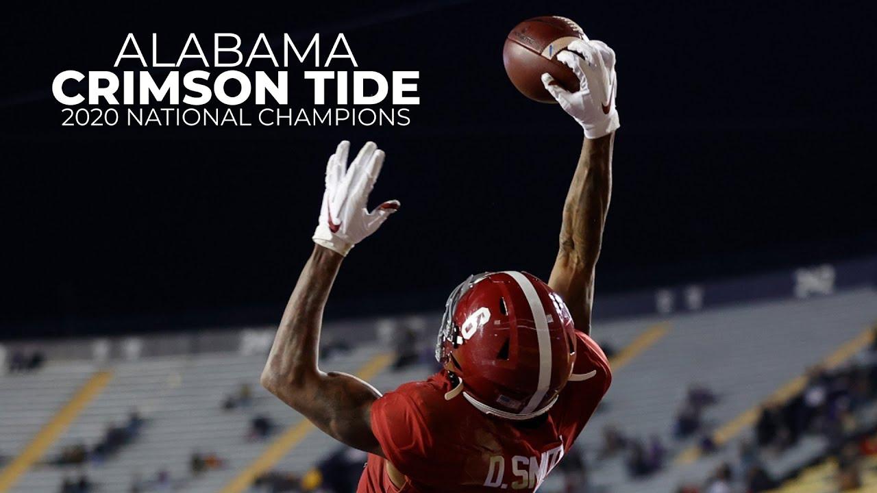 Alabama Football    2020 Highlights    CFP National Champs