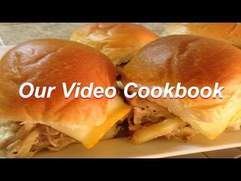 How to make Pulled Turkey Slider Recipe | Our Video Cookbook #133