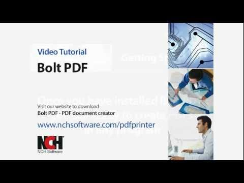 Bolt PDF Printing Software | PDF Printer Video Tutorial