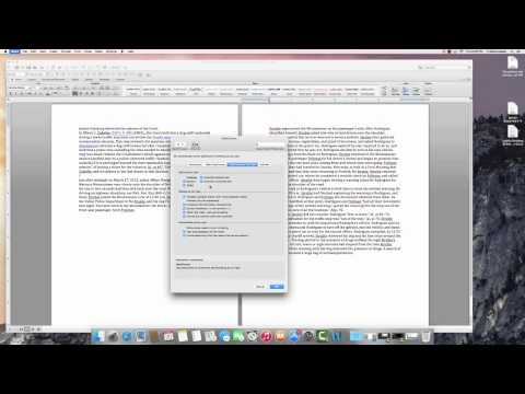 Spelling and Grammar Autocorrect Settings Word 2011 MAC