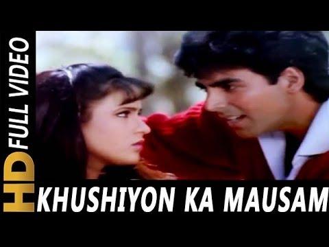 Khushiyon Ka Mausam | Kumar Sanu | Zakhmi Dil 1994 Songs | Akshay Kumar