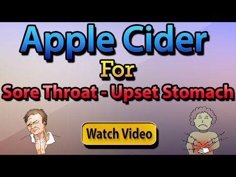 How to get rid of a sore throat fast | apple cider vinegar for strep throat