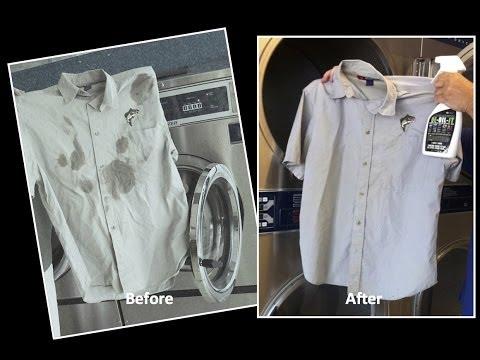 DE-OIL-IT - Removing Oil Stains from  Clothes, Uniforms, Shop Rags, Etc.