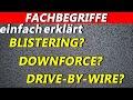WICHTIGE und SCHWIERIGE F1-Fachbegriffe 2019   F1 einfach erklärt   Maik's F1 Channel