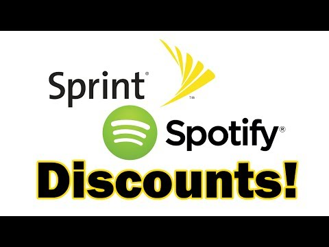 Sprint Offers Spotify Discounts