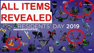 All Roblox Presidents Day Items Leaked