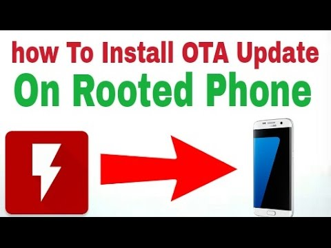 how to get OTA update after root