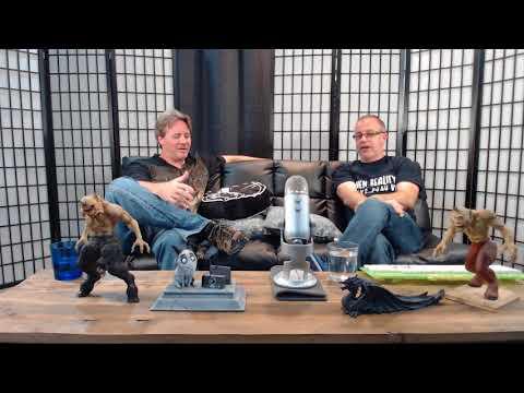 Virtual Reality and Tilt Brush: Old Geezer Geeks Review VR app Tilt Brush: Episode 01