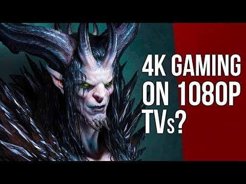 Why Does 4K Gaming Look Better Even on a 1080p TV?