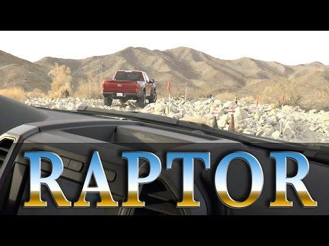 2017 Ford F-150 Raptor Rock Crawl & Desert Drive