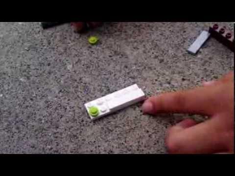 How to make a lego pocket knife
