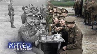 How Peter Jackson 'Brought To Life' WW1 Footage In His New Film   RATED