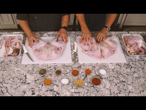 How to Spatchcock a Turkey with Master Chef Tony Seta