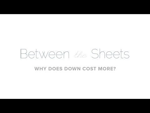 Au Lit Fine Linens: Why Down Pillows and Duvets Cost More