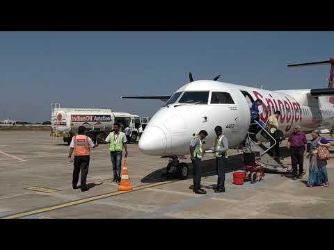 PONDICHERRY Airport BLR - PDY(1) flight time 35 mins