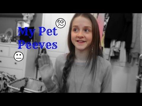 My Pet Peeves! ☁