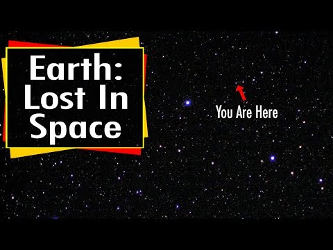 How Big Is The Universe?  Earth Lost In Space